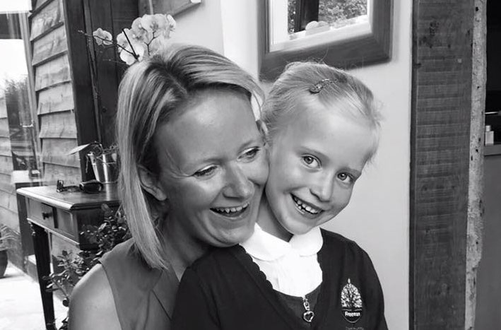 Happy matched betting mum and daughter