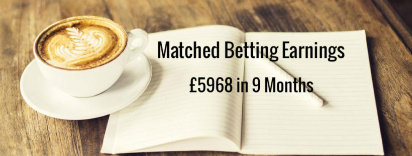 Matched Betting Mum Profit Accumulator Diary