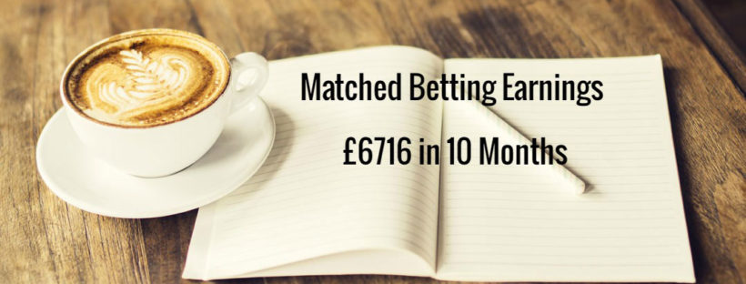 Matched Betting Mum 10 month diary