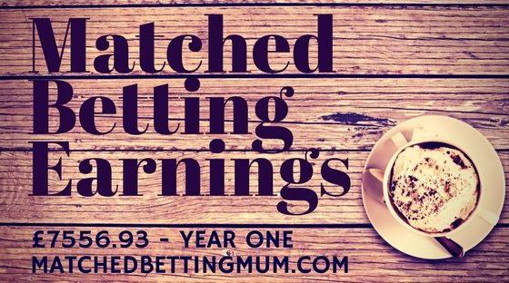 Matched Betting Mum Profit Accumulator Monthly Diary