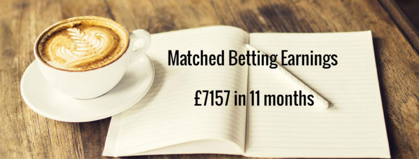 Matched Betting Mum diary Profit Accumulator