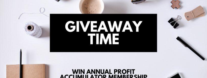 Matched Betting Mum Profit Accumulator membership competition
